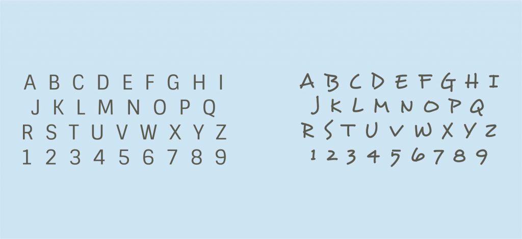Logodesign kläcks Schrift all2design Laura Friedrich