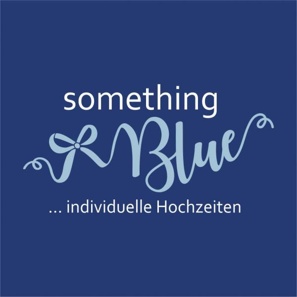 something Blue Hochzeitsplanung Logodesign 4C all2design Laura Friedrich