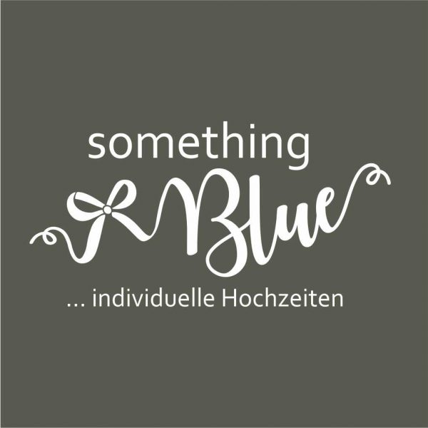 something Blue Hochzeitsplanung Logodesign SW all2design Laura Friedrich