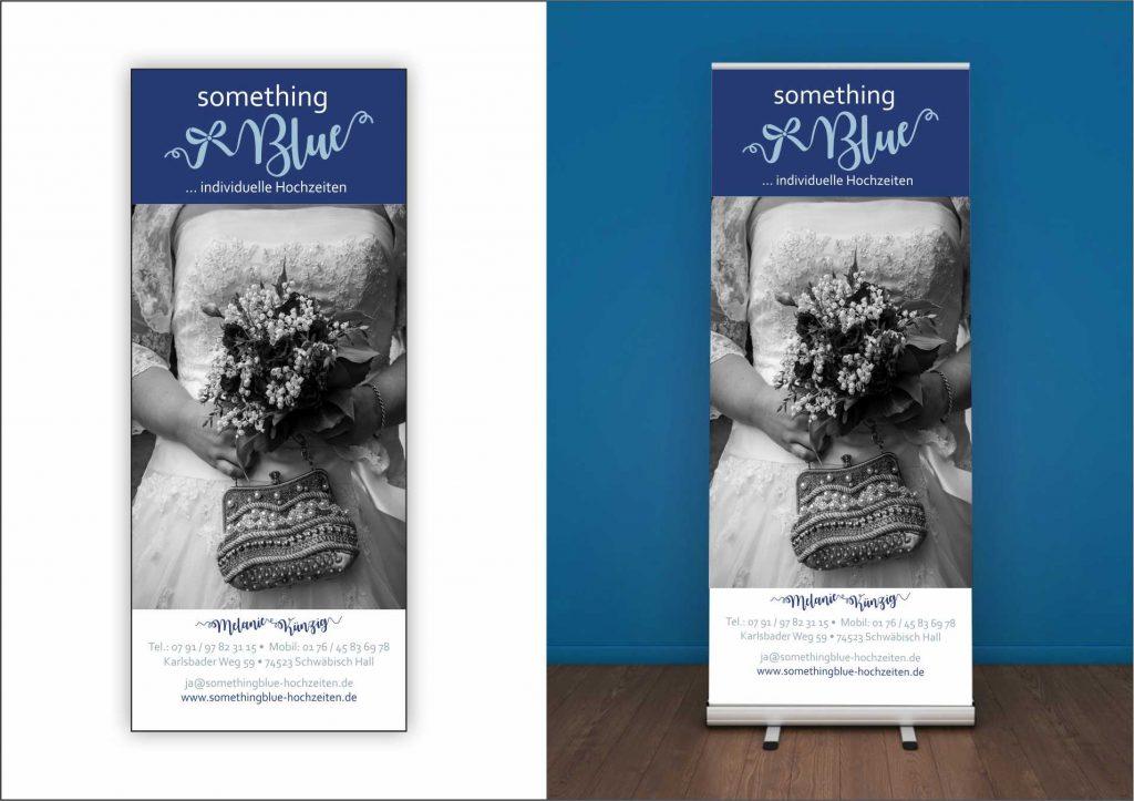 something Blue Hochzeitsplanung Roll-up all2design Laura Friedrich