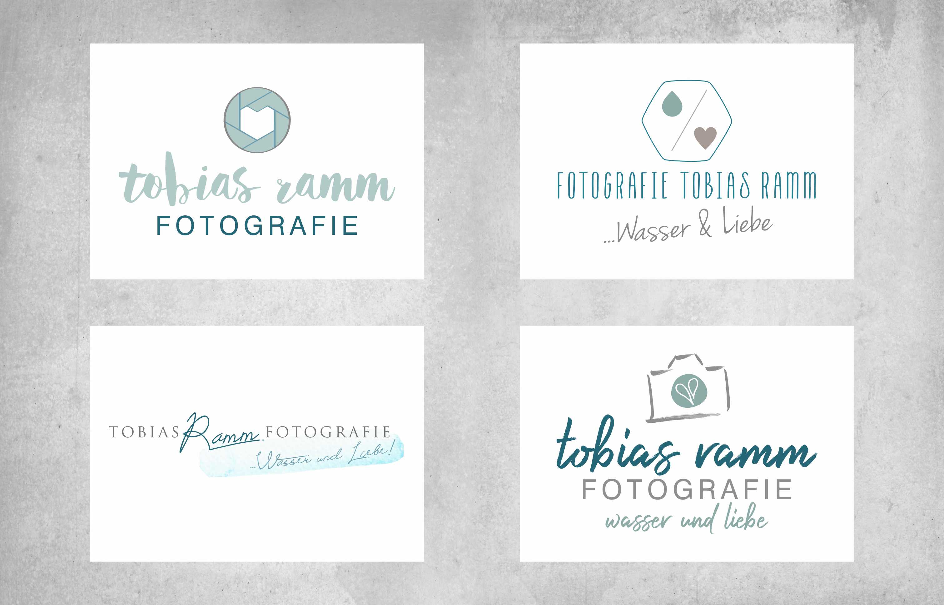 Portfolio Fotografie Tobias Ramm Logodesign Corporate Design Logoentwürfe all2design Laura Friedrich