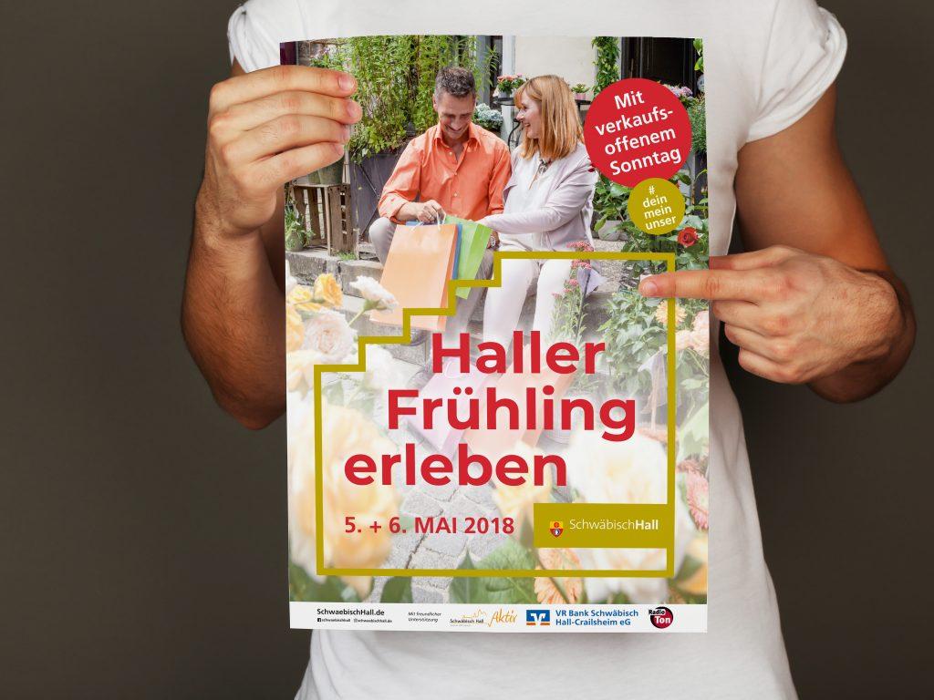 Stadt Schwäbisch Hall Poster Plakat Veranstaltung