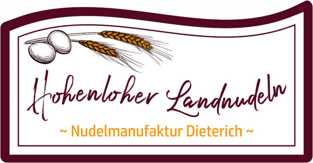 Nudelmanufaktur Dieterich Logogestaltung Food Startup