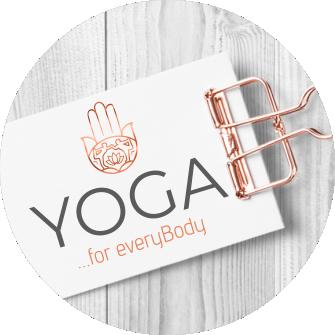 Logodesign Laura Friedrich Grafikdesign Yoga Logo Yogaschule Schwäbisch Hall