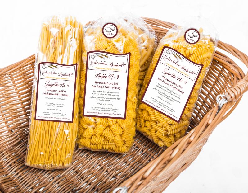 Verpackung Pasta Nudelmanufaktur Dieterich Logogestaltung Food Startup