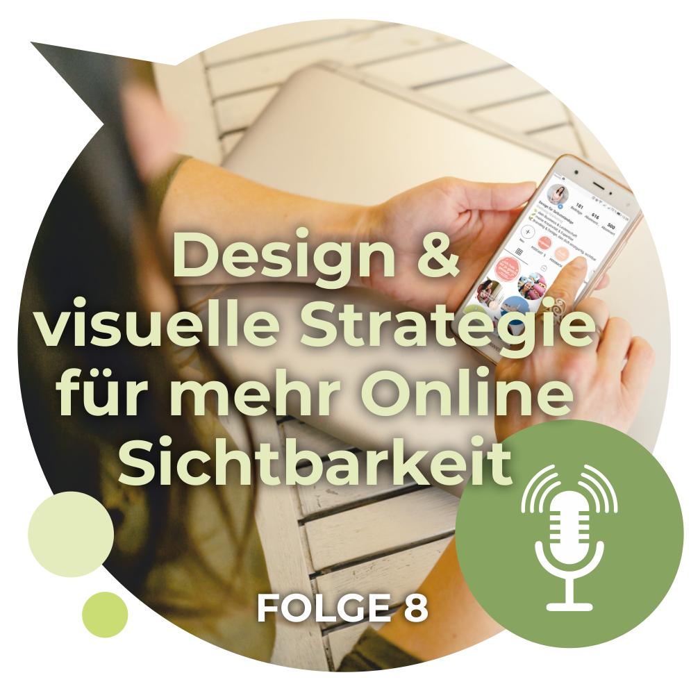 Design & visuelle Strategie mit Workbook für Selbstständige