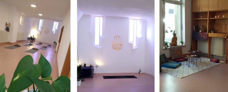 Yoga Studio Einrichtung