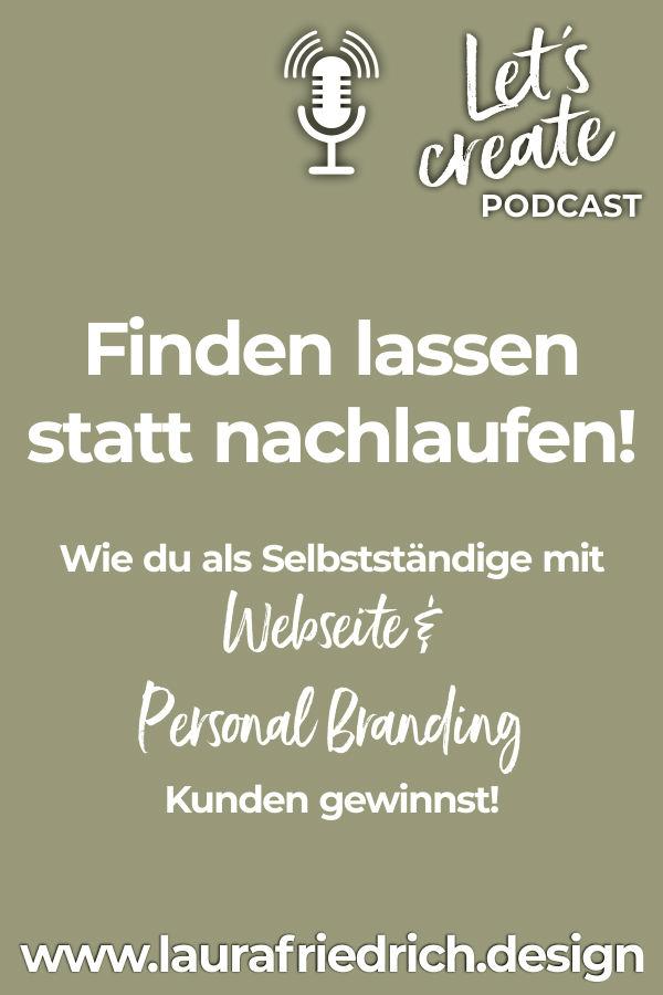 Pinterest Pin Personal Branding Kundengewinnung Selbstständige